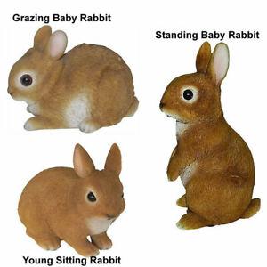 Rabbit Wildlife Garden Ornaments Outdoor or Indoor Decoration