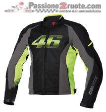 Tissu jacket moto Dainese Vr46 Air Tex Valenitno Rossi taglia 50