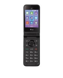 Tracfone Prepaid LG Classic flip phone (8GB)-Gray