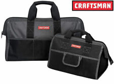 """Craftsman 16"""" & 20"""" inch Tool Bag Combo Storage Pouch Organizer Carrying Case"""