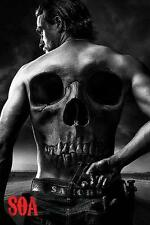 "SONS OF ANARCHY POSTER / FILMPOSTER ""SKULL"""