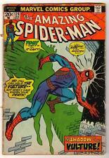 MARVEL Comics VG SPIDER-MAN Bronze #128 1973 AMAZING spiderman Vulture