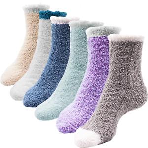 Kuschelsocken Damen Strümpfe Socken Wintersocken Haussocken Frauen Socks warm