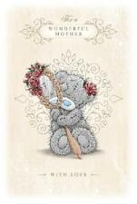 ME TO YOU FOR A WONDERFUL MOTHER WITH LOVE MOTHER'S DAY CARD TATTY TEDDY BEAR