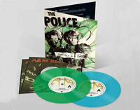 "2 x 7"" THE POLICE  - MESSAGE IN A BOTTLE - GREEN - BLUE - RSD 2019"