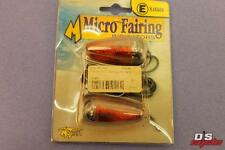 MOTRAX MICRO FAIRING MOUNT INDICATORS CLEAR LENS FOR MOTORCYCLES PART# FM2