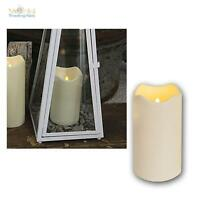 LED Kerze 18cm Ø10cm, Außen, Outdoor-Kerzen flammenlos flackernde candle