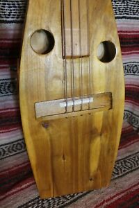 "Bass Fretless 4 String  Acoustic Oar Wishbass  34"" Scale with piezo light weight"