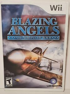 Blazing Angels: Squadrons of WWII (Nintendo Wii, 2007) WW2 Wii U Complete
