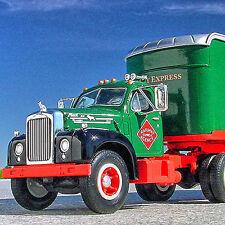 LAST RARE - 1960 RAILWAY EXPRESS AGENCY B MACK SEMI TRUCK  - First Gear