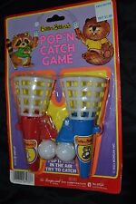 Vintage 80's CRITTER SITTERS Toy Party POP'N CATCH GAME Koala NIP NOS