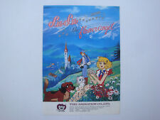 Prospectus ancien catalogue dessin animé Lulu the flower angel Toei Animation