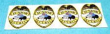 Disney Mickey Mouse Junior Security Badge Stickers (Lot of 4)