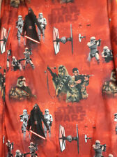 Star Wars Twin Sheets-The Force Awakens Sheets -Flat-Fitted- Red Black
