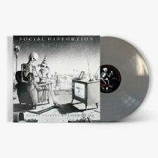 SOCIAL DISTORTION MOMMY'S LITTLE MONSTER USA METALLIC SILVER VINYL LP 300 ONLY