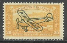 us possessions Philippines Airmail stamp scott c49 - 20 cents issue of 1933  mlh