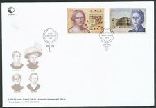 NORWAY 2013 WOMEN'S SUFFRAGE PAIR FDC BIN PRICE GB£7.50