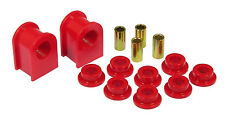 """Prothane Tall Frame 1-1/8"""" Front or Rear Sway Bar & End Link Bushings Kit (Red)"""