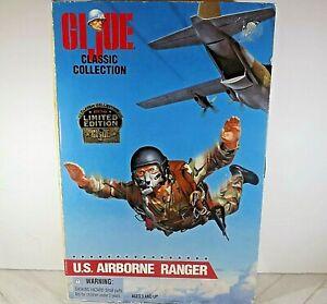 GI Joe Classic Collection U.S .Airborne Ranger Limited Edition 1996