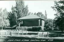 Canton SD The Band Stand in the Park RPPC