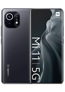 Xiaomi Mi 11 5G - Smartphone 8GB+128GB , Official UK Version , Midnight Gray