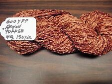 Rayon Chenille Yarn 600 Ypp 1 Skein, 4 oz.150 Yards Color Toffee