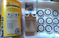 Vintage GAF Talking Viewmaster Gift Pak II and Reels