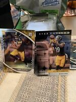 2020 PANINI ABSOLUTE FOIL CHASE CLAYPOOL ROOKIE RC CARD # 168 STEELERS And Juju