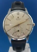 Mens Vintage Zenith Sporto Watch.FREE 3 DAY PRIORITY SHIPPING.