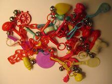 Vintage 80's Plastic Charm Necklace