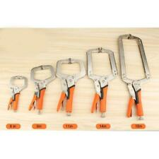 """Woodworking Clamp 6"""", 9"""", 11"""", 14"""", 18"""" Table Vise Grip Cabinets Locking Plier"""