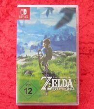 Legend of Zelda Breath of the Wild, Nintendo Switch Spiel, Neu, deutsche Version