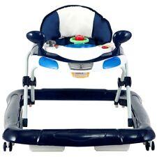 Lauflernhilfe RACER Gehfrei Gehhilfe Laufhilfe Kind Baby Walker (Blau/Weiß) NEU