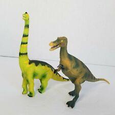 Pair of Geoworld Dinosaurs Brachiosaurus 1:85 Scale & Baryonyx 1:50 Scale