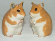 Quail Ceramics Hamsters Salt & Pepper Set 636