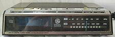 VINTAGE GENERAL ELECTRIC - 7-4646A - AM/FM CLOCK RADIO - TESTED