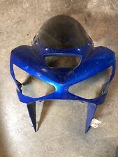 2004 03 04 Kawasaki Ninja ZX636 ZX6R Upper Fairing Headlight Nose Cowl ZX6RR 636