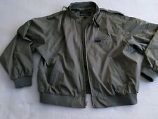 Members Only Green Lightweight Jacket MENS Extra Large XL Moto Bomber Racer