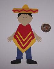1 Mexican Boy Premade PAPER Die Cuts / Scrapbook & Card Making