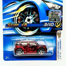 2005 Hot Wheels First Editions 3/10 X-Raycers Scion XB Red Clear w PR5s #53 New