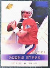 2000 Upper Deck SPX #130 Tom Brady Rookie Stars Reprint - Mint - Patriots