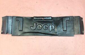 Jeep Cj factory frame cover Cj5 Cj7 Cj8 AMC bumper overlay