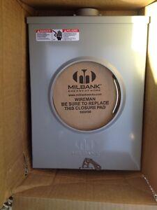 """200 Amp Meter Socket Milbank Or Meter Base With 2""""inch Hub. Standard & Last Ones"""