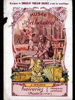 IMAGE CHROMO CHOCOLAT POULAIN / ART INDUSTRIEL, IVOIRERIES Française & Japonaise