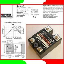 IR® CRYDOM™ A2410 SSR★RELE' STATO SOLIDO AC In.90-280V~ Out.240V~10A★PANEL MOUNT