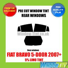 FIAT BRAVO 5-door 2007 + 5% Limo POSTERIORE TASTINI finestra Tinta