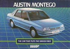 Austin Montego 1984 UK Market Launch Foldout Sales Brochure