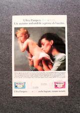 I258-Advertising Pubblicità-1989- ULTRA PAMPERS BOY E GIRL
