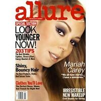 ALLURE MAGAZINE APRIL 2008 MARIAH CAREY-WE ALL HAVE STORIES SHE HAS A MINI-SERIE