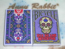 1 deck Bicycle Dia De Los Muertos Painted LTD Edition Playing Cards S10220000-D2